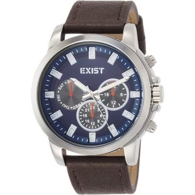 [J-アクシス] 腕時計 EX-D04-BL 正規輸入品 ブラウン