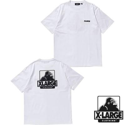エクストララージ XLARGE メンズ Tシャツ S S TEE OG 101211011058 SS21 X-LARGE トップス 半袖 WHITE ホワイト系