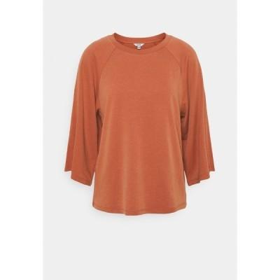 エム バイ エム カットソー レディース トップス MIZZA - Long sleeved top - copper brown