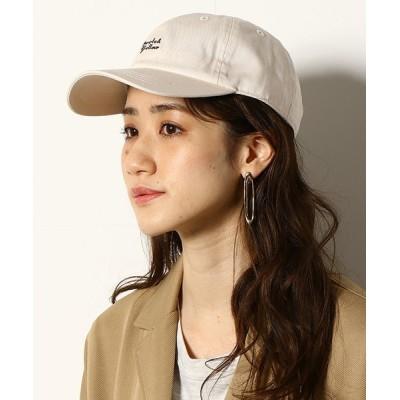 COMME CA ISM / 刺繍ロゴ ローキャップ MEN 帽子 > キャップ