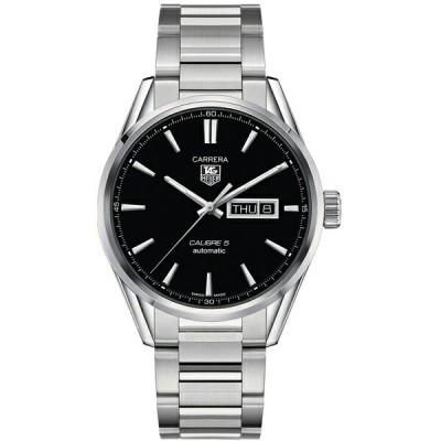 タグホイヤー TAG Heuer 腕時計 カレラ キャリバー5 デイデイト ブラック WAR201A.BA0723