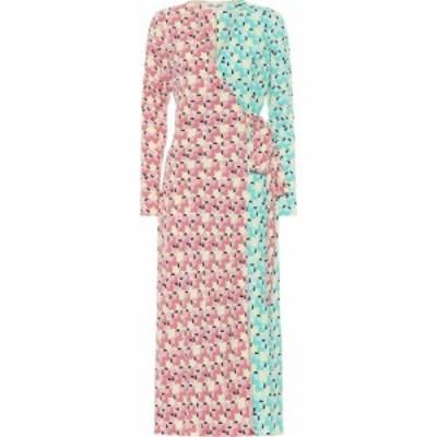 ダイアン フォン ファステンバーグ Diane von Furstenberg レディース ワンピース ラップドレス tilly printed crepe wrap dress Commas