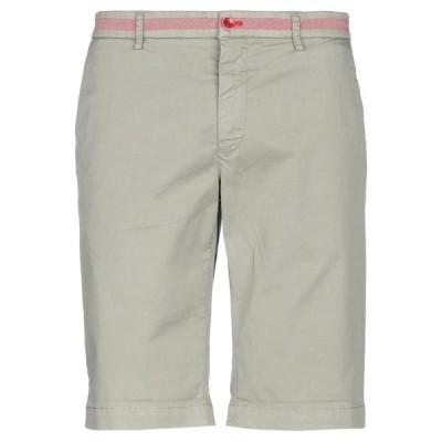 EM'S OF MASON'S ショートパンツ&バミューダパンツ  メンズファッション  ボトムス、パンツ  ショート、ハーフパンツ ミリタリーグリーン