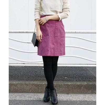 スカート Khaju:ツイルベルベットスカート