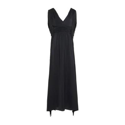アンナリータ エンネ ANNARITA N ロングワンピース&ドレス ブラック 42 ポリエステル 100% ロングワンピース&ドレス