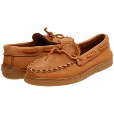 ミネトンカ Minnetonka メンズ ローファー シューズ・靴 Moosehide Classic Natural