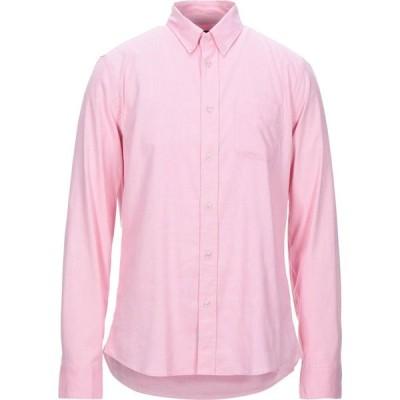 ブラウアー BLAUER メンズ シャツ トップス Solid Color Shirt Pink