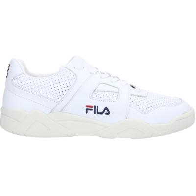 FILA スニーカー&テニスシューズ(ローカット) ホワイト 11.5 革 スニーカー&テニスシューズ(ローカット)