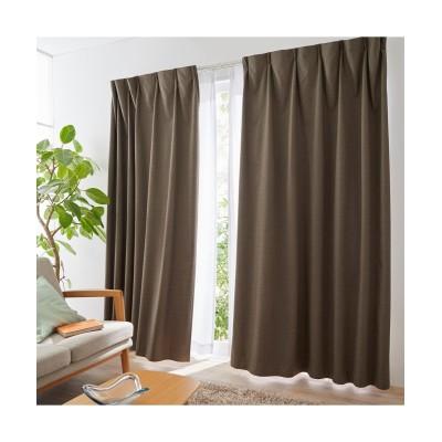 【送料無料!】奥行のある色合いのカチオンミックスドビー織遮熱。防音。1級遮光カーテン&レースセット カーテン&レースセット, Curtains, sheer curtains, net curtains(ニッセン、nissen)