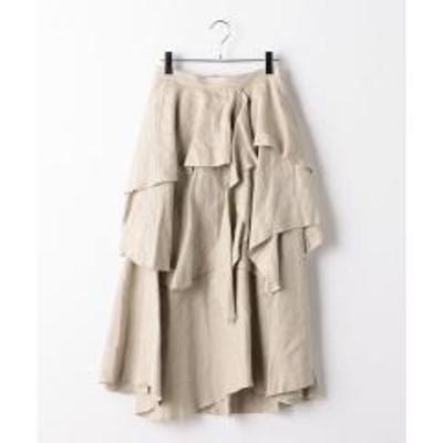 シップス5-knot:アシンメトリースカート【お取り寄せ商品】