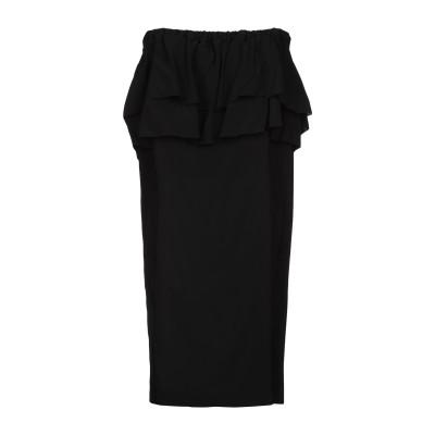 ジャッカ JUCCA ミニワンピース&ドレス ブラック 44 レーヨン 95% / ポリウレタン 5% ミニワンピース&ドレス