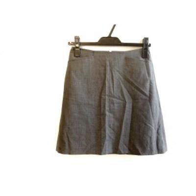 セオリー theory スカート サイズ0 XS レディース グレー【中古】20191028