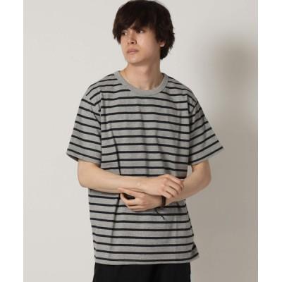tシャツ Tシャツ ヘビーウェイト オーバーサイズ ボーダーTシャツ