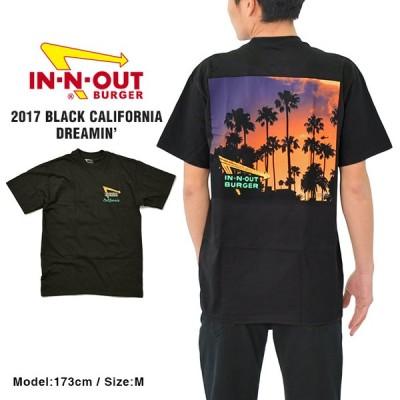 インアンドアウト Tシャツ IN-N-OUT BURGER CALIFORNIA DREAMIN メンズ レディース ユニセックス