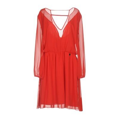 MANGANO ミニワンピース&ドレス レッド 44 100% ポリエステル ポリウレタン ミニワンピース&ドレス