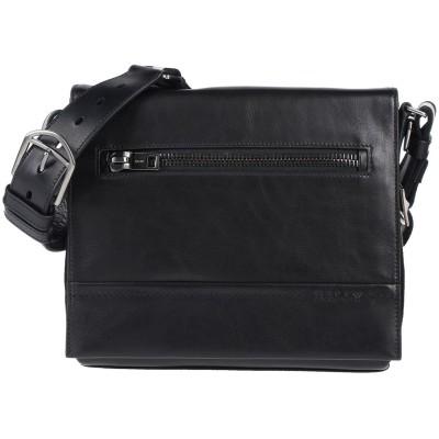 BALLY メッセンジャーバッグ ブラック 革 メッセンジャーバッグ