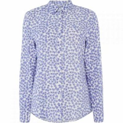 クルークロッシングカンパニー Crew Clothing Company レディース ブラウス・シャツ トップス Agnes Printed Viscose Shirt Multi-Colour