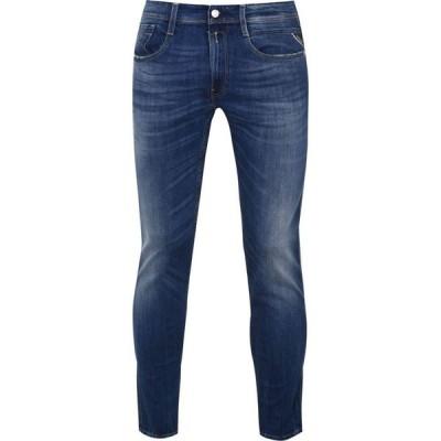 リプレイ Replay メンズ ボトムス・パンツ Trousers Dark Blue