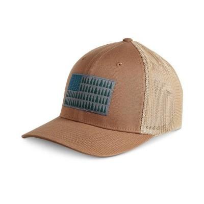 コロンビア 帽子 アクセサリー メンズ Men's Mesh Tree Flag Ball Cap Delta