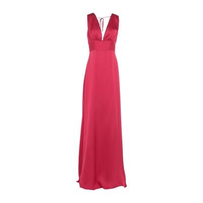 KITAGI® ロングワンピース&ドレス ガーネット 44 レーヨン 100% ロングワンピース&ドレス