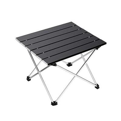 全国送料無料!Ledeak ポータブルキャンピングテーブル 小型超軽量折りたたみテーブル アルミテーブル