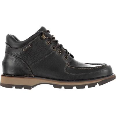 ロックポート Rockport メンズ ブーツ チャッカブーツ シューズ・靴 Umbwe Chukka Boots Brown Leather