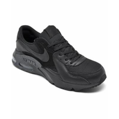 ナイキ メンズ スニーカー シューズ Men's Air Max Excee Running Sneakers from Finish Line Black Dark Gray