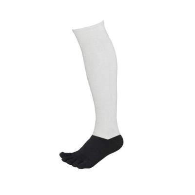 5本指 2足組 野球 アンダーソックス 2Pセット パンダソックス 靴下 アンダーストッキング ハイソックス 男女兼用 野球 日本製 25-28cm ホワイト×ブラック