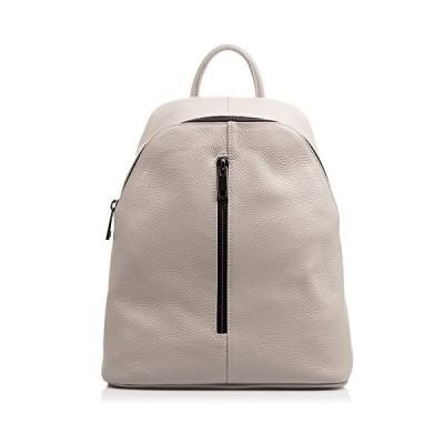 FIRENZE ARTEGIANI Genuine Leather Woman Backpack. Dollaro Genuine Leather Backpack. Front Pocket. Woman Laptop Backpack Made in Italy.Genuine Italian