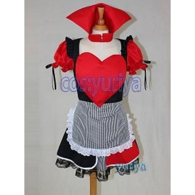 アリスでワンダーランド女王 コスプレ衣装