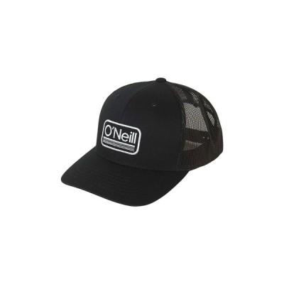 オニール 帽子 アクセサリー メンズ Men's Headquarters Trucker Hat Black
