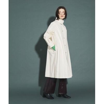 UNITED TOKYO / ラミネートステンカラーコート WOMEN ジャケット/アウター > ステンカラーコート