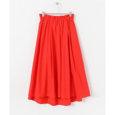 スカート ローンフレアスカート∴