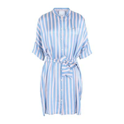 GAëLLE Paris ミニワンピース&ドレス スカイブルー 44 レーヨン 100% ミニワンピース&ドレス