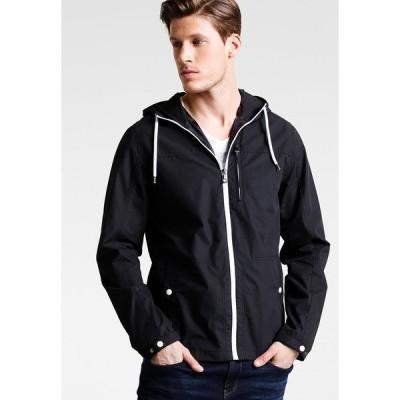 ピアワン ジャケット&ブルゾン メンズ アウター Summer jacket - black