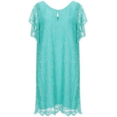 NAF NAF ミニワンピース&ドレス ターコイズブルー XS ポリエステル 65% / ナイロン 35% ミニワンピース&ドレス