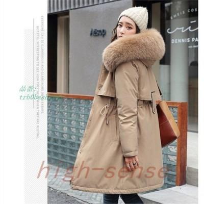 コートボアコートファーコートフード付きアウターフェイクファー付ジャケットファー暖かい冬防寒レディースモッズコートロングコートもこもこ