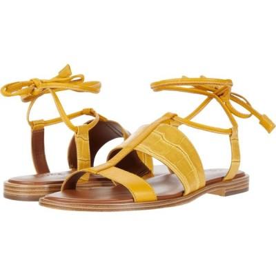 ナチュラライザー Naturalizer レディース サンダル・ミュール シューズ・靴 Fayee Sunset Yellow Crocco Print Leather