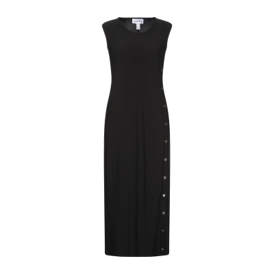 JOSEPH RIBKOFF 7分丈ワンピース・ドレス ブラック 8 ポリエステル 96% / ポリウレタン 4% 7分丈ワンピース・ドレス