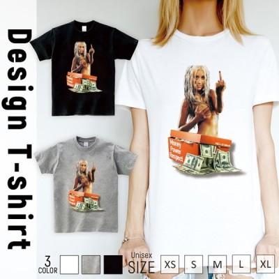 Tシャツ レディース 半袖 トップス ブランド ユニセックス メンズ プリントTシャツ money Power hiphop かっこいい