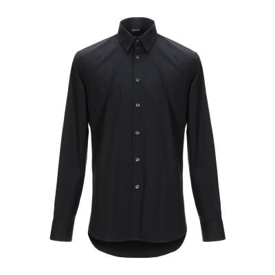 ジャストカヴァリ JUST CAVALLI シャツ ブラック 39 コットン 97% / ポリウレタン 3% シャツ