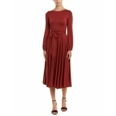 Rachel Pally レイチェルパリー ファッション ドレス Rachel Pally Marston Midi Dress Xs Red