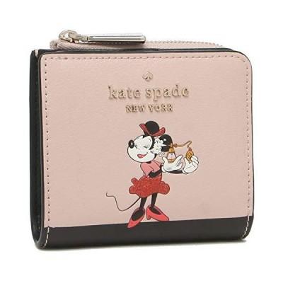 [ケイトスペード]折財布 ミニ財布 アウトレット レディース KATE SPADE WLR00285 111 ベージュマルチ