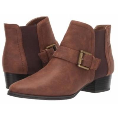 エアロソールズ Aerosoles レディース ブーツ シューズ・靴 cross out Brown Fabric