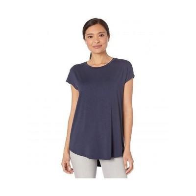NIC+ZOE ニックアンドゾー レディース 女性用 ファッション Tシャツ Eaze Tee - Dark Indigo