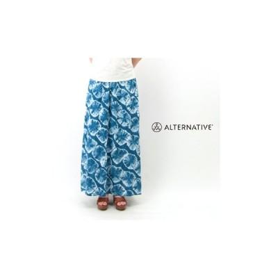 (SALE 50%OFF)alternative apparel オルタナティブアパレル レディース Haiku Taki Wash Maxi Skirt(13009T6)(SS)(返品交換不可)