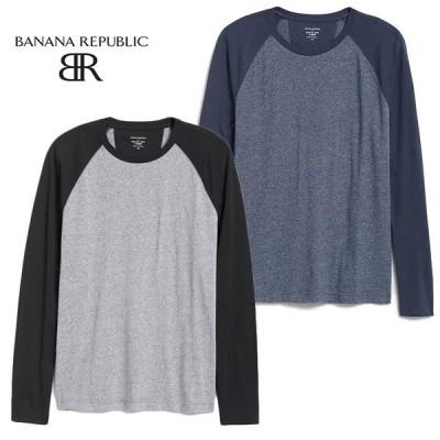 BANANA REPUBLIC バナナリパブリック バナリパ メンズ ロンT 長袖 ba357 ブラック