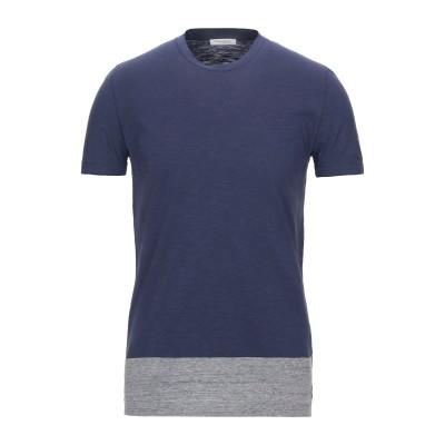 パオロ ペコラ PAOLO PECORA T シャツ ダークブルー XL コットン 100% T シャツ