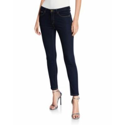 マイケルコース レディース デニムパンツ ボトムス High-Waist Super Stretch Skinny Jeans DARK RINSE WASH
