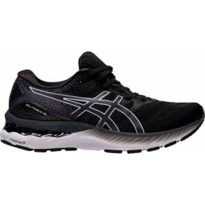 アシックス レディース スニーカー シューズ ASICS Women's GEL-Nimbus 23 Running Shoes Black/White